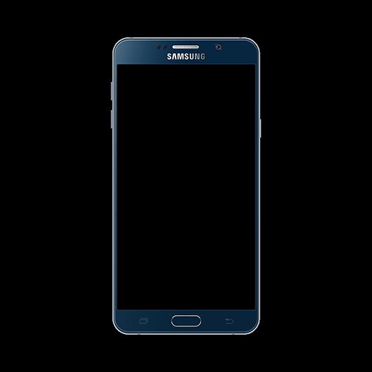 Samsung Galaxy Note 5 Black Mock Up
